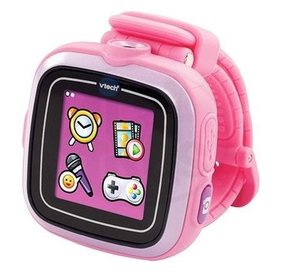 VTech Kidizoom Smart Watch růžové s fotoaparátem a videokamerou, Doprava zdarma