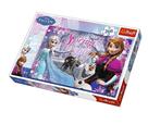 Puzzle Ledové království/ Frozen 260 dílků, 60×40 cm