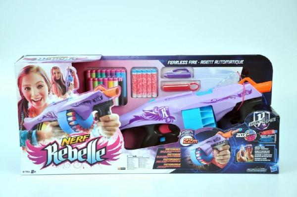 Nerf Rebelle Pistole Fearless Fire plast s doplňky v krabici
