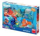 Puzzle Hledá se Dory a přátelé 4× 54 dílků