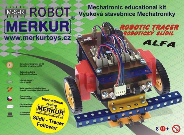 Stavebnice MERKUR Robotický slídil ALFA, Doprava zdarma