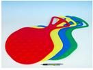 Kluzák Mrazík plast 58x 35cm - mix barev
