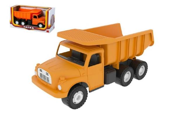 Auto Tatra 148 plast 30cm oranžová sklápěč