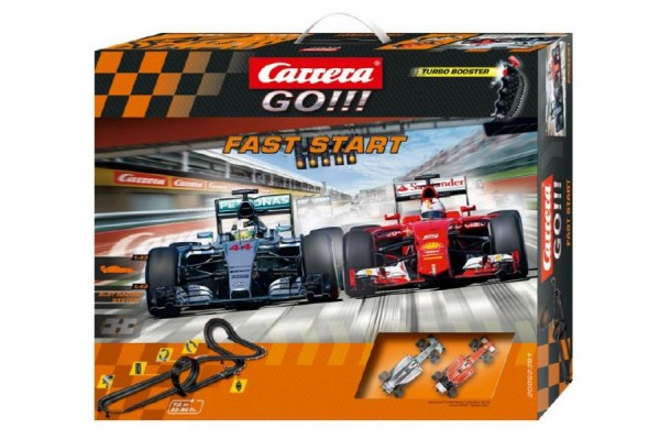 Autodráha Carrera GO!!! Fast Start, Doprava zdarma