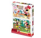 Puzzle Pracovitá Minnie 2x 66 dílků