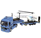 Stavebnice Monti 58 Actros L-MB Helitransport