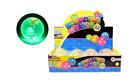 Míč Hopík kačenka s barevnými třpytkami svítící 6,5cm, mix barev