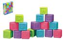 Abecední kostky plast 16ks v krabici od 6 měsíců
