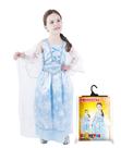 Karnevalový kostým princezna zimní modrá, vel. M