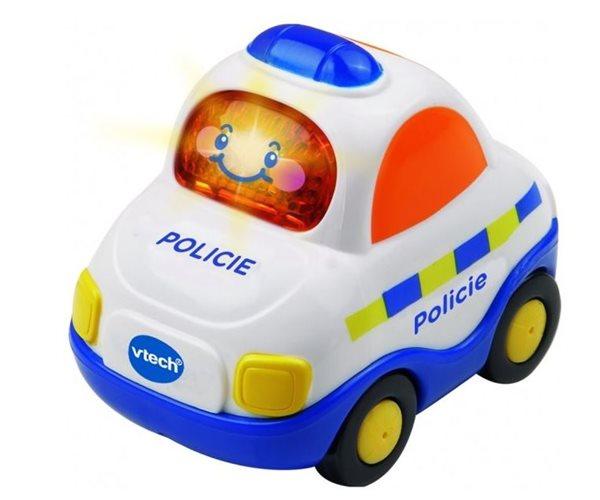 Autíčko Tut Tut policie česky mluvící 8cm Vtech