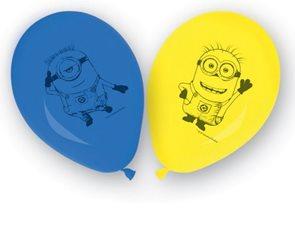 Balónky nafukovací Mimoňové - Mimoni 8ks, PROCOS