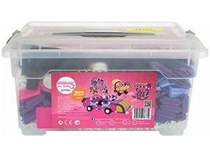 Stavebnice Seva pro holky 2 Jumbo 1 140 ks v plastovém boxu