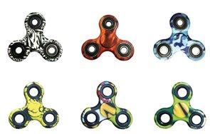 Fidget Spinner, mix 6 barevných motivů