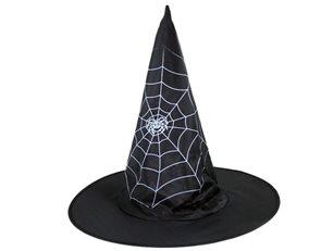 Klobouk čarodějnický s pavučinou, dětský