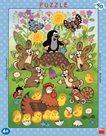 Puzzle deskové Krtek a Velikonoce, 40 dílků