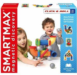 Stavebnice SmartMax - dráha pro kuličku - 30 ks