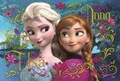 Puzzle - Ledové království: Anna a Elsa 100 dílků