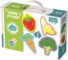 Puzzle baby Zelenina a ovoce 2dílky