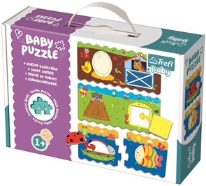 Puzzle baby Tvary 2 dílky