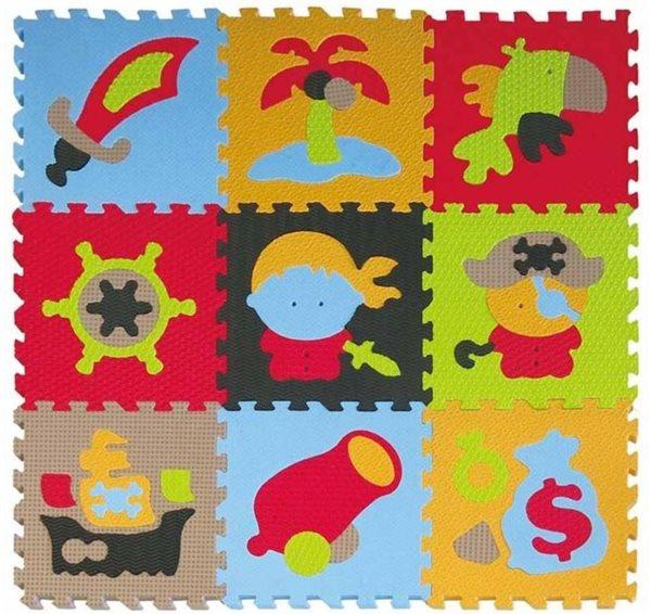 Pěnové puzzle Piráti SX (30x30)