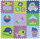 Pěnové puzzle Klučičí hračky SX (30x30)