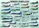 Puzzle Moderní bojová letadla 1000 dílků