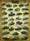 Puzzle Tanky 2. světové války 1000 dílků
