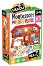 Moje první puzzle Farma s 5 dřevěnými figurkami (Montessori)