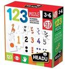 Puzzle 1-2-3 První počítání 27 dílků