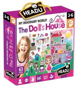 Hrací sada s puzzle Můj vymyšlený svět: Domeček