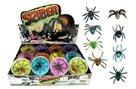 Sliz - hmota pavouk 7cm, mix druhů