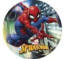 Papírový talíř 23 cm Spiderman 8 ks