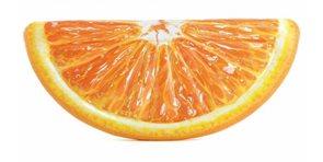 Lehátko pomeranč nafukovací 178x 85cm