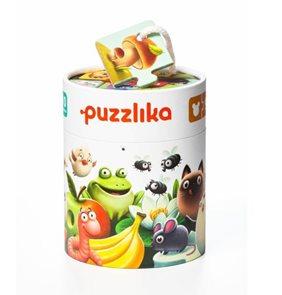 Mé jídlo - naučné puzzle 20 dílků