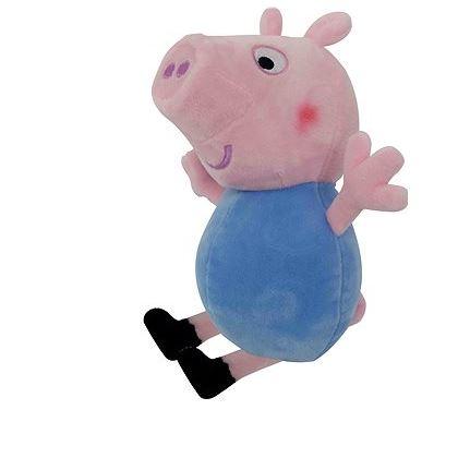 Prasátko Peppa plyš postavička George 35,5 cm modrý
