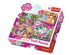 Puzzle My Little Pony 4 v 1 (35,48,54,70 dílků)