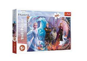 Puzzle Ledové království 2: Mrazivá magie 100 dílků