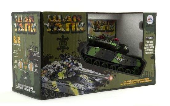 Tank RC T-80 25cm + dobíjecí pack a adaptérem