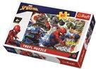 Puzzle Statečný Spiderman Disney 33x 22cm 60 dílků