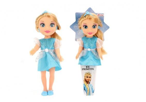 Panenka princezna Ledové království 31 cm v kornoutu