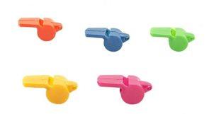 Píšťalka plast 5 cm, mix barev