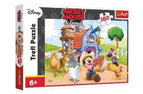 Puzzle Farmář Mickey Disney 41x 27,8 cm, 160 dílků