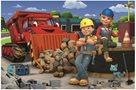 Puzzle Bob a Wendy - Bořek Stavitel 33 x 22 cm, 60 dílků