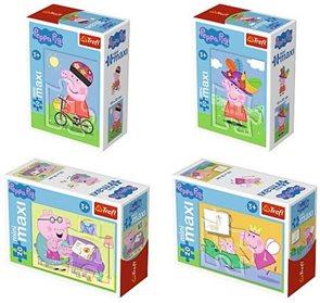 Minipuzzle miniMaxi 20 dílků Zábava s Peppou, mix