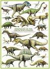 Puzzle Svět dinosaurů: Křída 1000 dílků