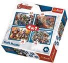 Puzzle Avengers - Jsme tým 4 v 1 (35, 48, 54, 70 dílků)