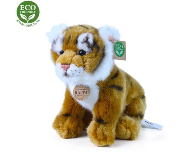Plyšový tygr sedící, 25 cm
