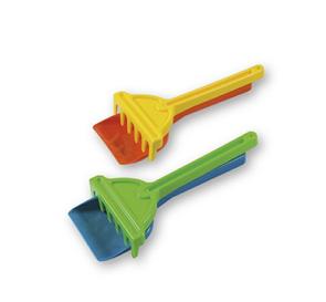 Androni Lopatka a hrabičky na písek - 26 cm, mix barev