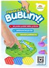 Bubble Pops - Praskající bubliny silikon antistresová hra, 6 barev