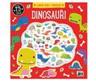 Zábavné úkoly s dinousaury s pěnovými samolepkami